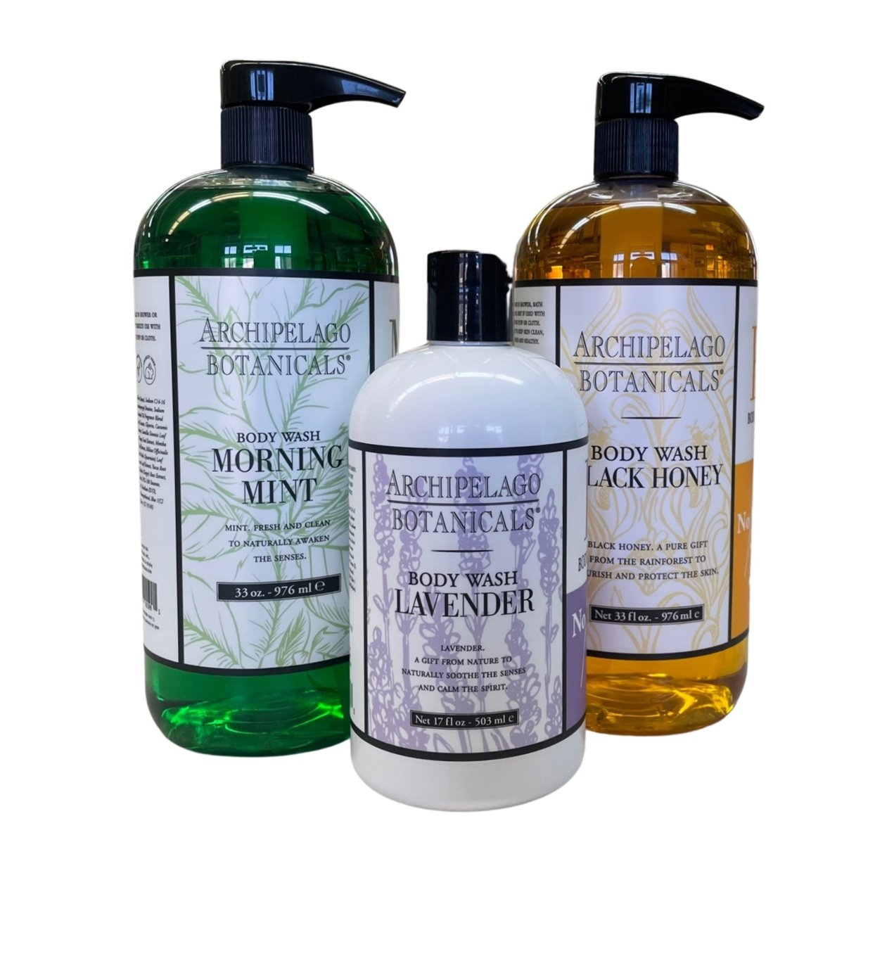 Body Washes & Bath Gels