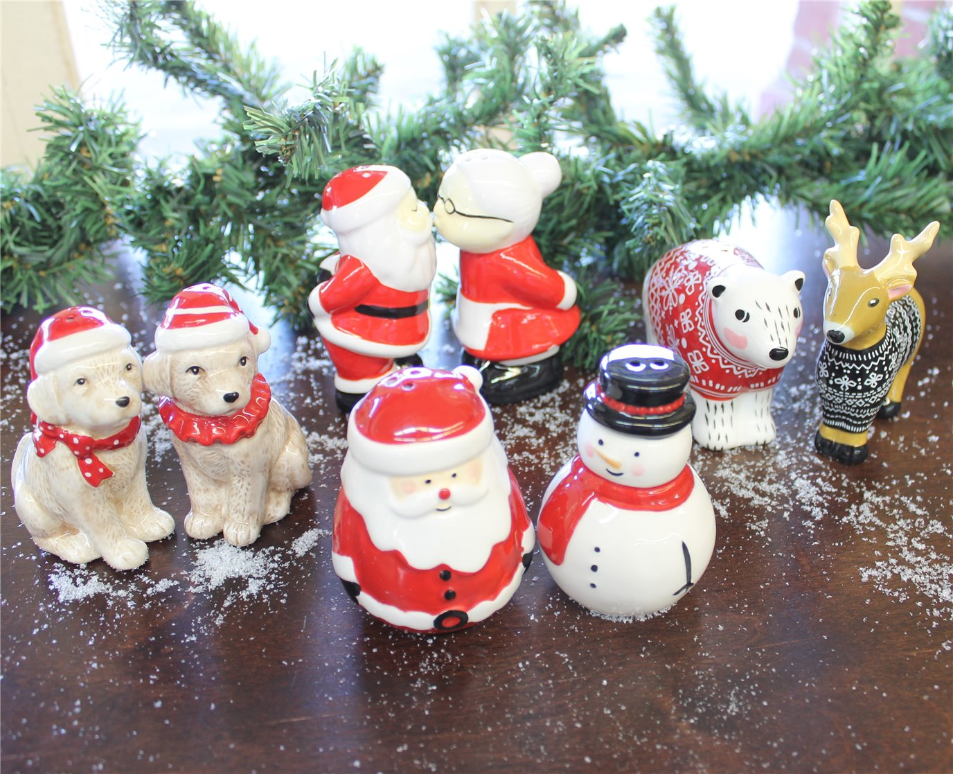 Christmas Salt and Pepper Sets