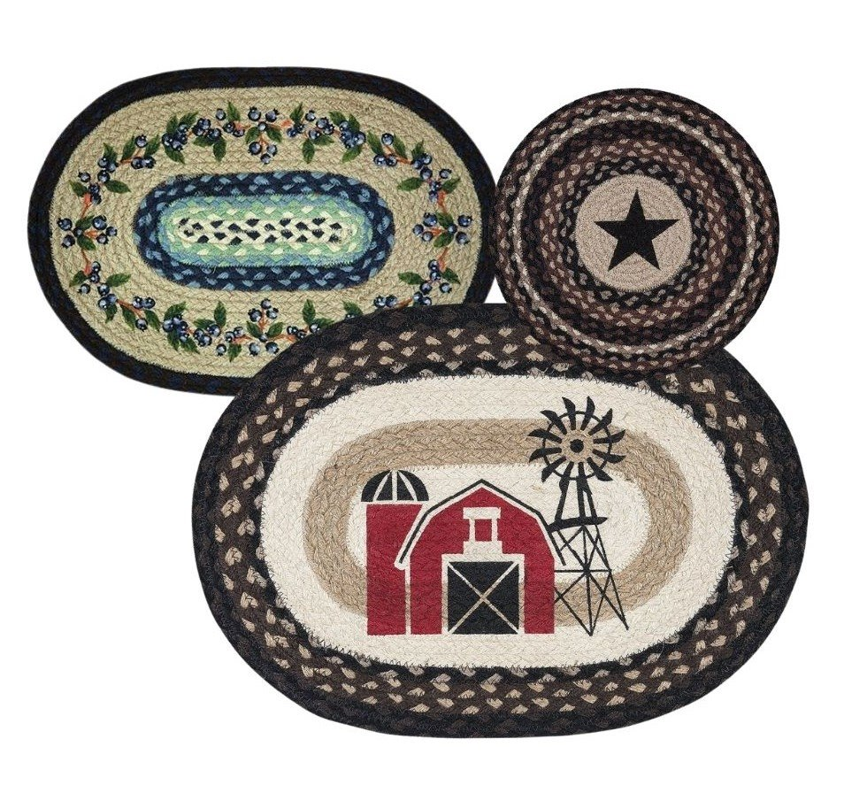 Placemats by Earth Rugs
