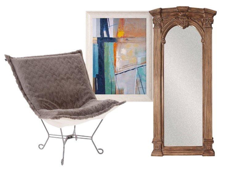 Howard Elliott Furniture and Mirrors