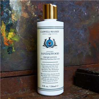 Caswell-Massey Sandalwood Creme Lotion (8 oz)