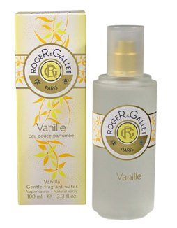 Roger & Gallet Vanilla Gentle Fragrant Water Spray (3.3 oz.)
