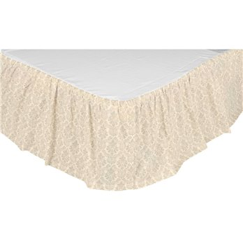 Ava King Bed Skirt 78x80x16