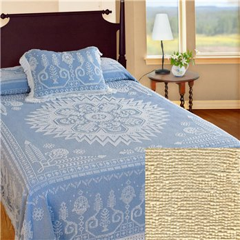 Spirit of America Bedspread King Antique