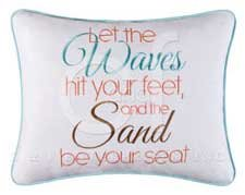 Let the Waves Pillow