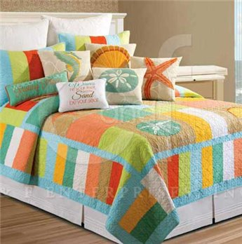 Washed Ashore Twin Quilt