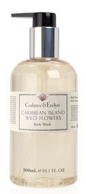 Crabtree & Evelyn Caribbean Island Wild Flowers Body Wash (10.1 fl oz., 300ml)