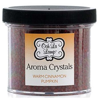 La Tee Da Ooh La Lamp Aroma Crystals Fragrance Warm Cinnamon Pumpkin/Falling Leaves