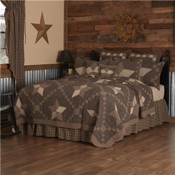 Farmhouse Star King Quilt 110Wx97L