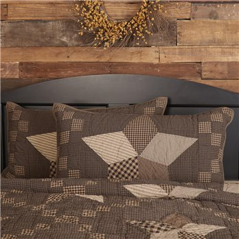 Farmhouse Star King Sham 21x37