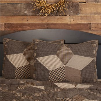 Farmhouse Star Standard Sham 21x27