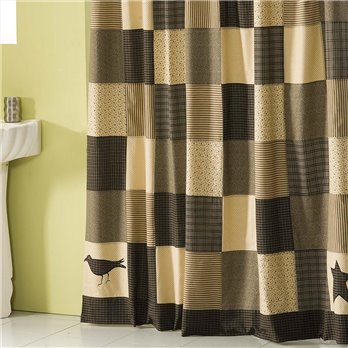 Kettle Grove Shower Curtain 72x72