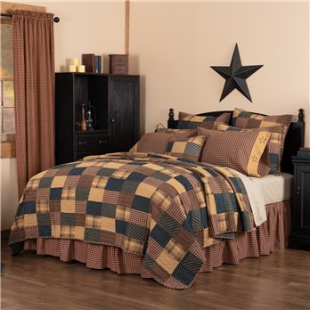 Patriotic Patch Twin Quilt 70Wx90L