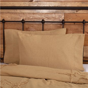 Burlap Natural Pillow Cases