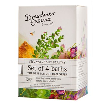 Dresdner Essenz Set of 4 Assorted Bath Soaks