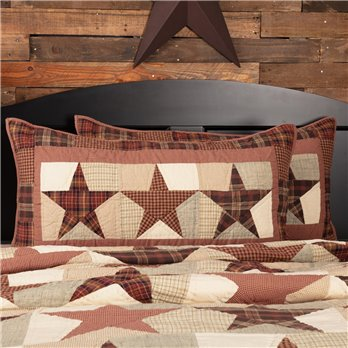Abilene Star King Sham 21x37