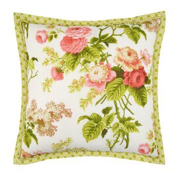 Emma's Garden 18x18 Decorative Pillow