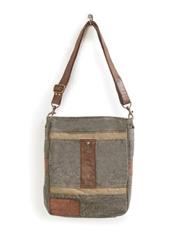 Mona B. Cameron Canvas Crossbody