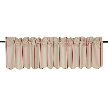 Charlotte Rouge Scalloped Valance