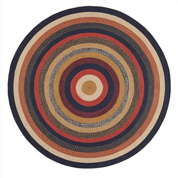 Stratton Jute Rug 8ft Round