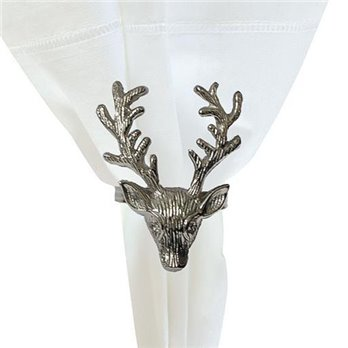 Silver Stag Napkin Ring