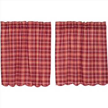 Braxton Scalloped Tier Set of 2 L36xW36