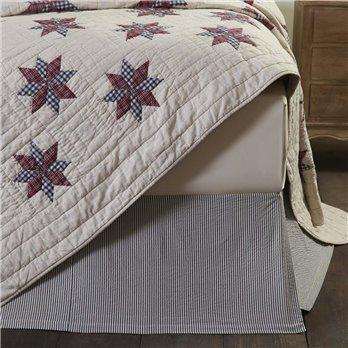 Lincoln Twin Bed Skirt 39x76x16