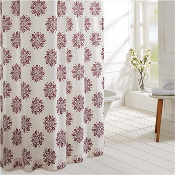 Mariposa Fuchsia Shower Curtain 72x72