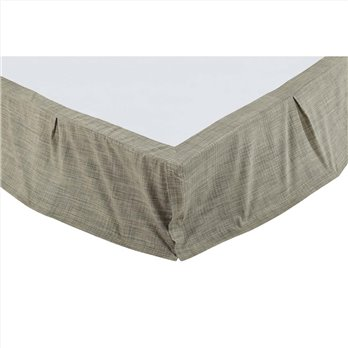 Vincent King Bed Skirt 78x80x16