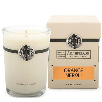 Archipelago Orange Neroli Soy Boxed Candle
