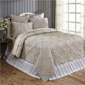Aubree Stone Queen Quilt 92Wx92L