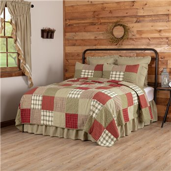 Prairie Winds Luxury King Quilt 120Wx105L