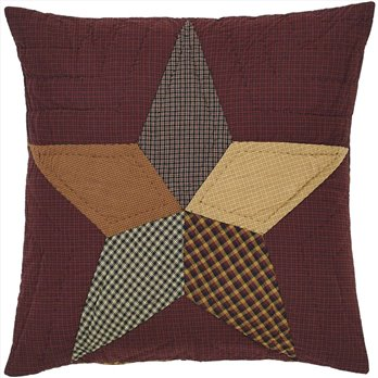 Folkways Star Quilted Euro Sham 26x26
