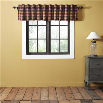 Heritage Farms Primitive Check Valance 16x90