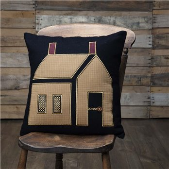 Heritage Farms Primitive House Pillow 18x18