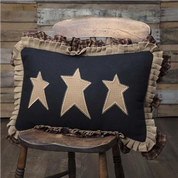 Heritage Farms Primitive Stars Pillow 14x22