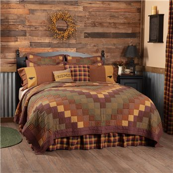Heritage Farms Queen Quilt 90Wx90L
