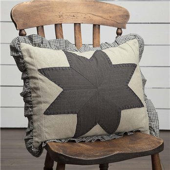 Liberty Stars Patchwork Pillow 14x18