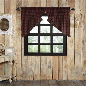 Cumberland Prairie Swag Set of 2 36x36x18
