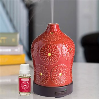 Essential Oil Diffuser by Airomé with Claire Burke Applejack & Peel Fragrance Oil
