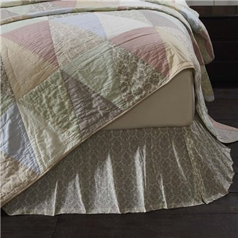 Ava Twin Bed Skirt 39x76x16