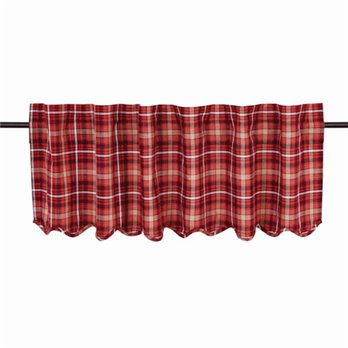 "Braxton Scalloped Valance 16""x60"""
