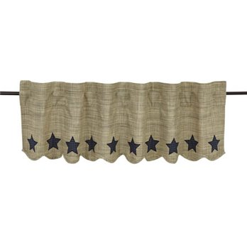"Vincent Scalloped Valance 16""x60"""