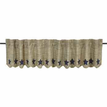"Vincent Scalloped Valance 16""x90"""