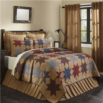 Kindred Star King Quilt 105Wx95L