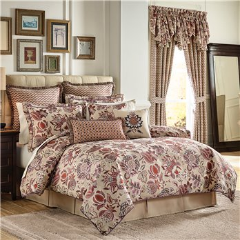 Lauryn Cal King 4 Piece Comforter set