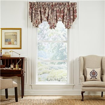 Lauryn Circle Valance 42x24
