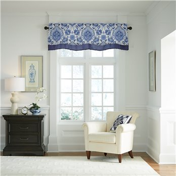Leland Layered Scalloped Valance