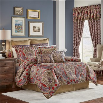Margaux Cal King 4 Piece Comforter set