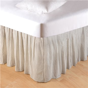 Nelly Onyx Twin Bed Skirt